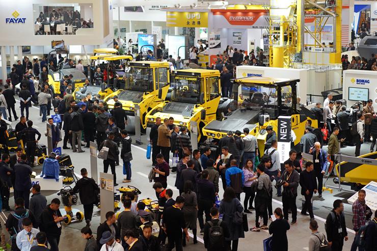 Triển lãm máy móc xây dựng lớn nhất Châu Á