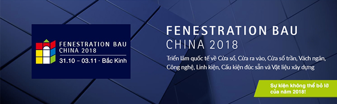 FENESTRATION BAU CHINA