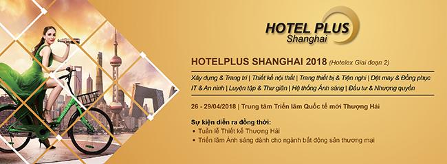 Hotelex Shanghai 2018 plus