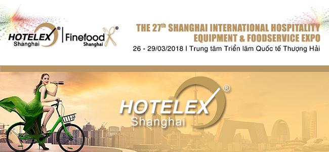 HOTELEX triển lãm ngành nhà hàng khách sạn